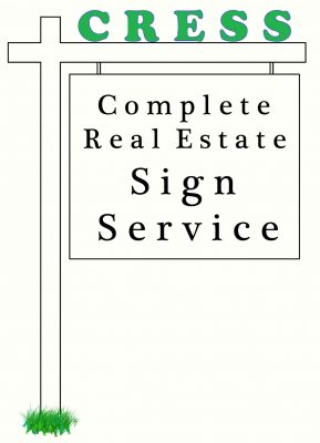 Complete Real Estate Signs Service logo